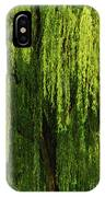 Weeping Willow Tree Enchantment  IPhone Case