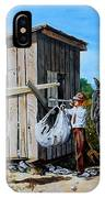 Weighing Cotton In The Field 1930s IPhone Case