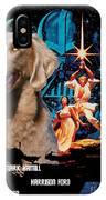 Weimaraner Art Canvas Print - Star Wars Movie Poster IPhone Case