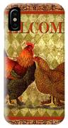 Welcome Rooster-61412 IPhone Case
