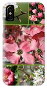 Welcome Spring Collage IPhone Case