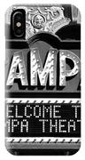 Welcome Tampa IPhone Case