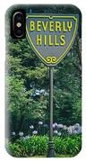 Welcome To Beverly Hills IPhone Case
