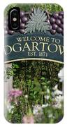 Welcome To Edgartown IPhone Case