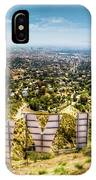 Welcome To Hollywood IPhone Case
