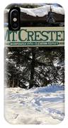 Welcome To Mt Crested Butte IPhone Case