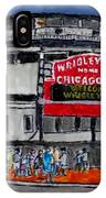 Welcome To Wrigley Field IPhone Case