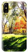 Well Traveled Path IPhone Case