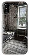 Wells Hotel Room 2 - Garnet Ghost Town - Montana IPhone Case