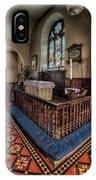 Welsh Chapel IPhone Case