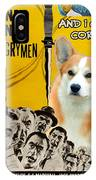Welsh Corgi Pembroke Art Canvas Print - 12 Angry Men Movie Poster IPhone Case