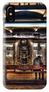 West 4th Street Subway IPhone Case