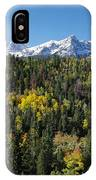 West End Of The Sneffles IPhone Case