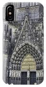 West Entrance Door Cologne Cathedral IPhone Case