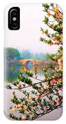 West Lake Blossums IPhone Case