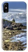West Quoddy Lubec Maine Lighthouse IPhone Case