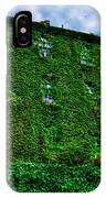 West Village Townhouse Ivy IPhone Case