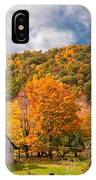 West Virginia Barns  IPhone Case