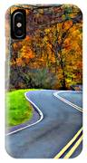 West Virginia Curves Painted IPhone Case