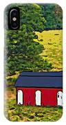 West Virginia Line Art IPhone Case
