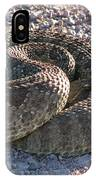 Western Dakota Prairie Rattlesnake IPhone Case
