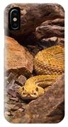 Western Diamondback Rattlesnake 2 IPhone Case
