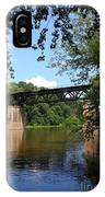 Western Maryland Railroad Crossing The Potomac River IPhone Case