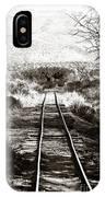 Western Tracks IPhone Case