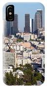 Westlake And Los Angeles Skyline IPhone Case