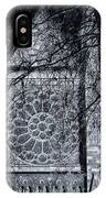 Westminster Abbey North Transept IPhone Case