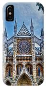 Westminster Abbey - North Transept IPhone X Case
