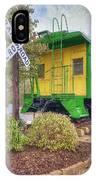 Weston Railroad Crossing IPhone Case