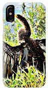 Wet Feathers IPhone Case