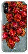 Wet Grapes Four IPhone Case