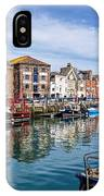 Weymouth Harbour IPhone Case