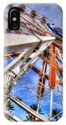Wharf Wheel IPhone Case