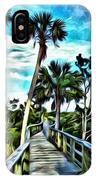 What A Beautiful Boardwalk IPhone Case