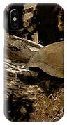 What A Crock - Featured In Wildlife Group IPhone Case