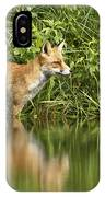 What Does The Fox See IPhone Case