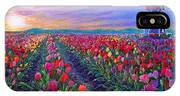 Tulip Fields, What Dreams May Come IPhone Case