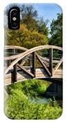 Wheaton Northside Park Bridge IPhone Case