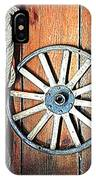 Wheel An Rope IPhone Case