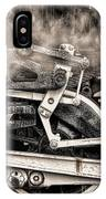 Wheel And Steam IPhone Case