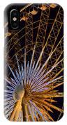 Wheel At Night Niagara Falls IPhone Case
