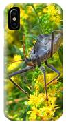 Wheel Bug  IPhone Case