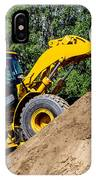Wheel Loader Construction Site IPhone Case