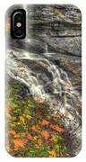 When Light And Water Falls-5a Blackwater Falls State Park Wv Autumn Mid-morning IPhone Case