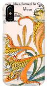 When Lilies Turned To Tiger Blaze IPhone Case