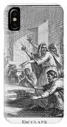 When Plague-afflicted Romans  Come IPhone Case