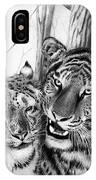 When Two Hearts Collide IPhone Case